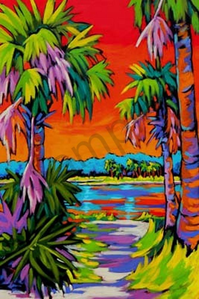 Intra Coastal Sunset Ii Art | Sally C. Evans Fine Art