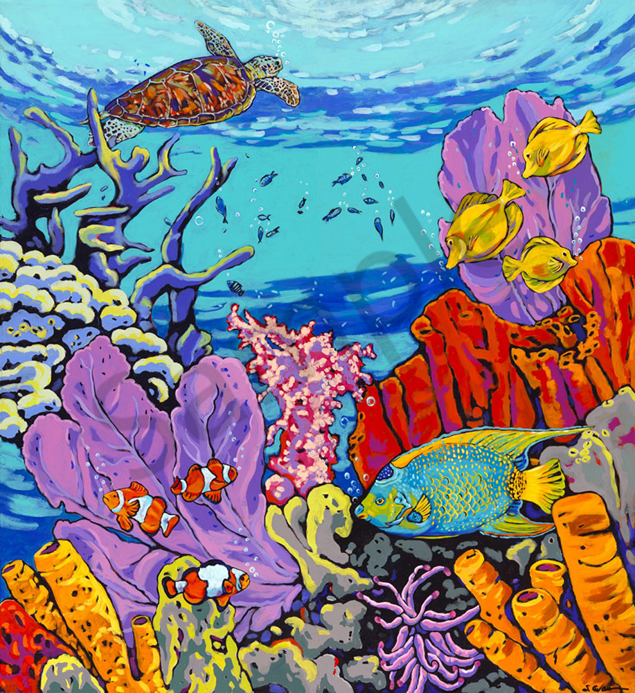 King And Queen Of The Sea Art | Sally C. Evans Fine Art