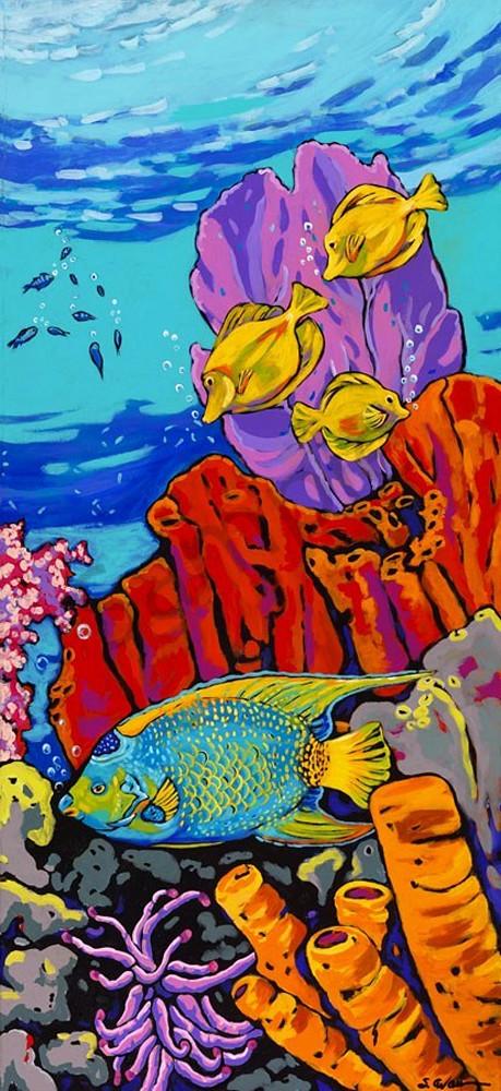 Queen Of The Reef Art | Sally C. Evans Fine Art