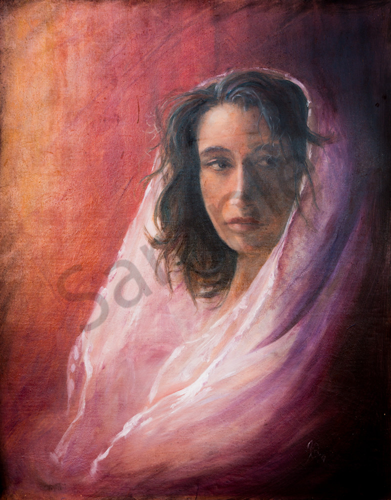 """Mary: Pondering"" by Pennsylvania artist April Ryan 