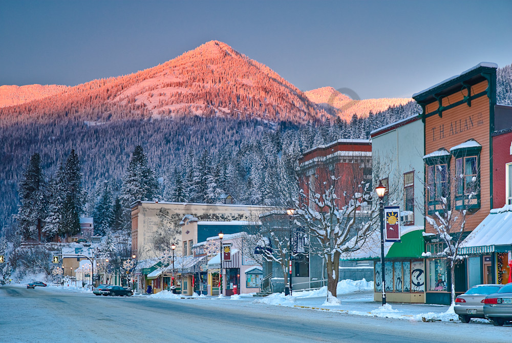 The Original Rossland Main Street