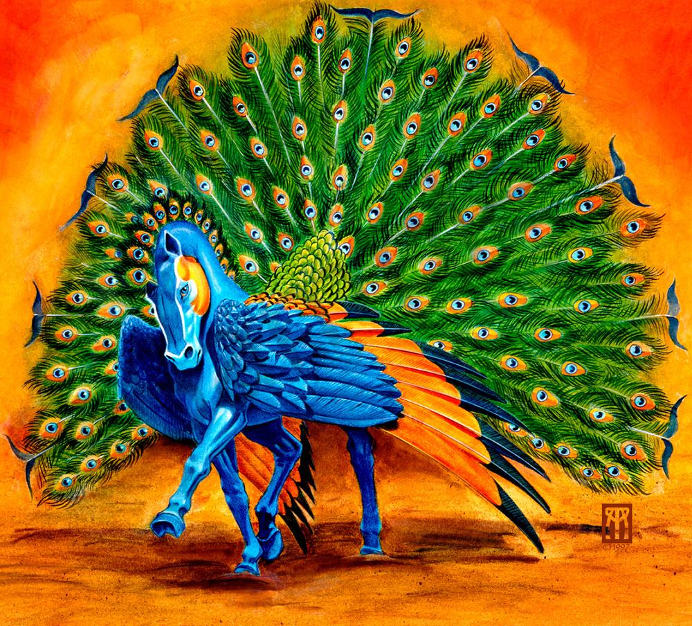 Peacock Pegasus