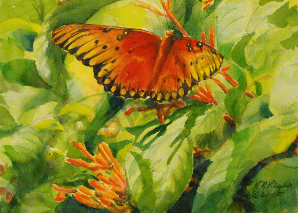 Gulf Fritillary Art for Sale