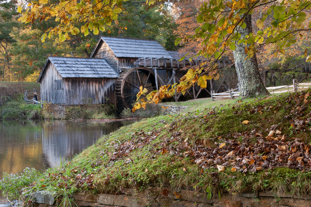 Rustic Wall Art: Mabry Mill