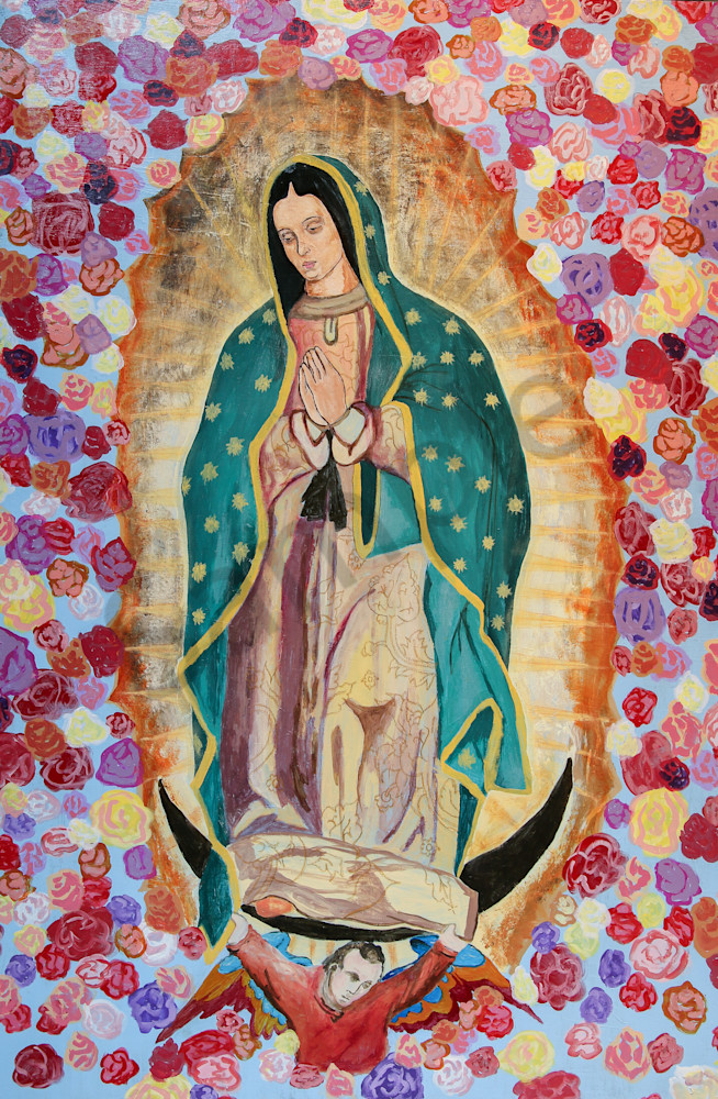 Our Lady Of Guadalupe Art Print Christian Prints For Sale Wall