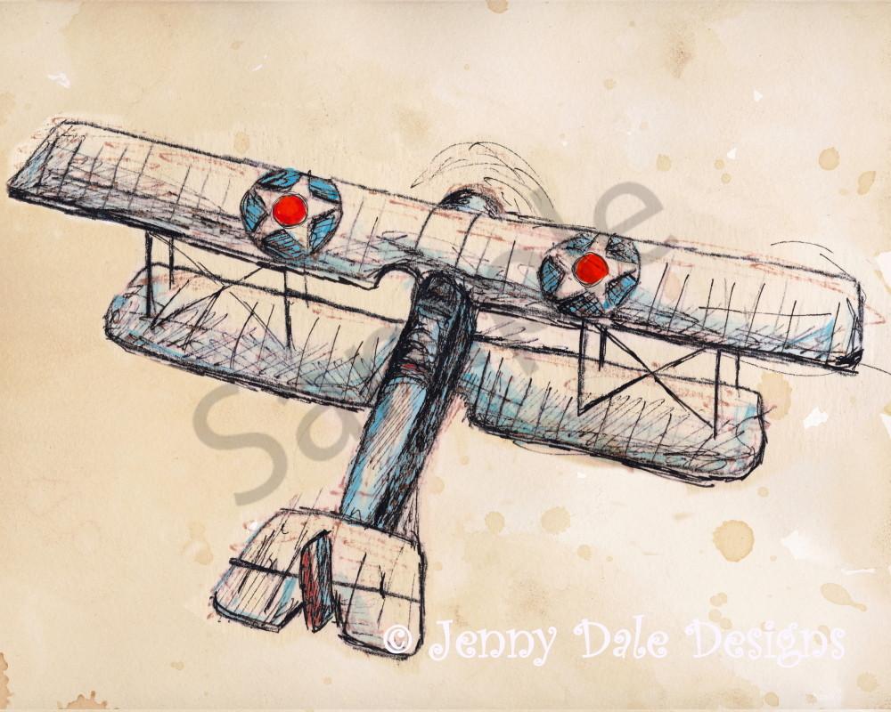 Vintage Airplane Version 2