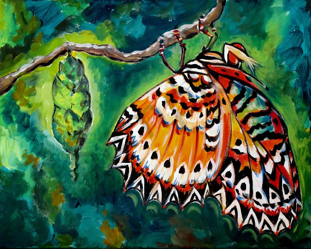 """Transformation"" by California Artist Karen Calden Fulk | Prophetics Gallery"