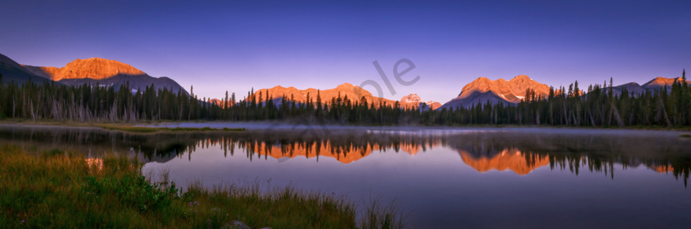 Buller Pond. Banff National Park|Canadian Rockies|Rocky Mountains|