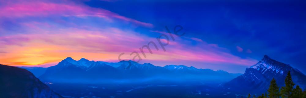 Bow Valley Morning Blaze