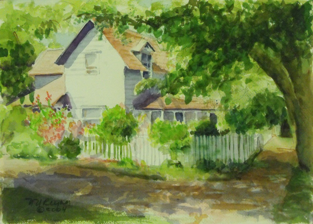 Picket Fence Art for Sale