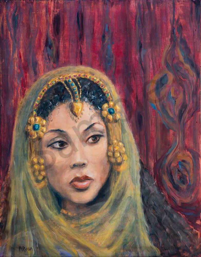"""Queen Of Sheeba: Breathless"" by April Ryan | Prophetics Gallery"