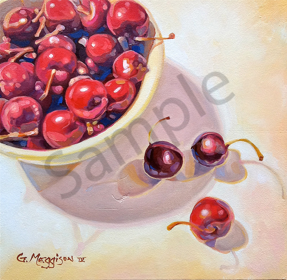 Life is a Bowl of Cherries | Murals in Classical Style | Gordon Meggison IV