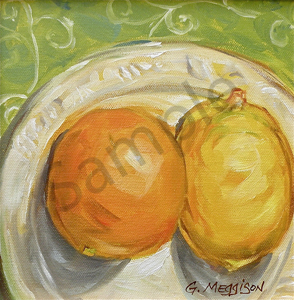 Two Lemons   Murals in Classical Style   Gordon Meggison IV