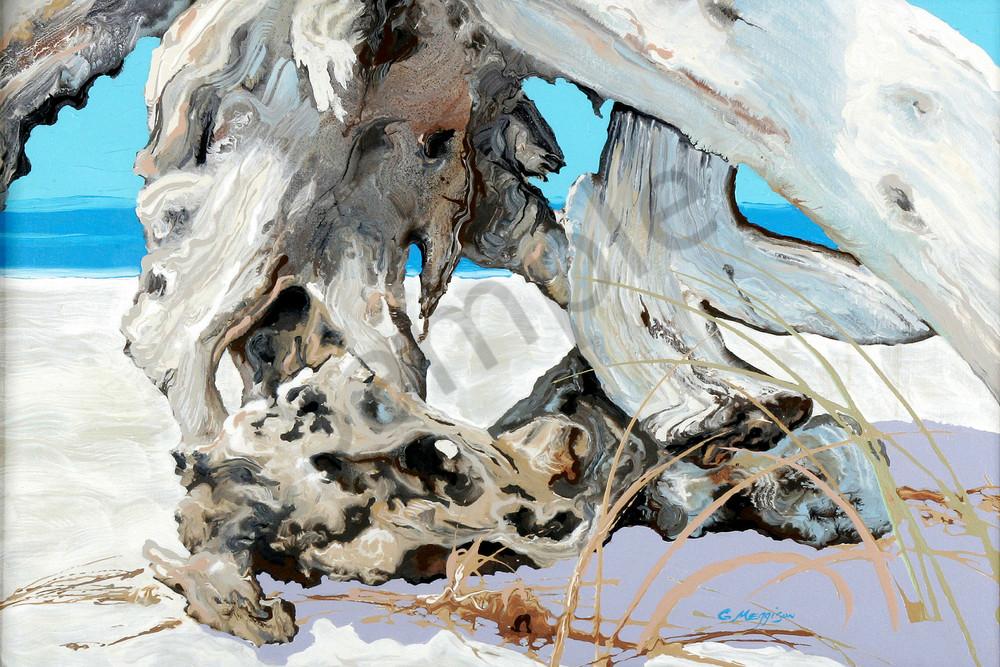 Aqua and Silver 2 | Contemporary Landscapes | Gordon Meggison IV