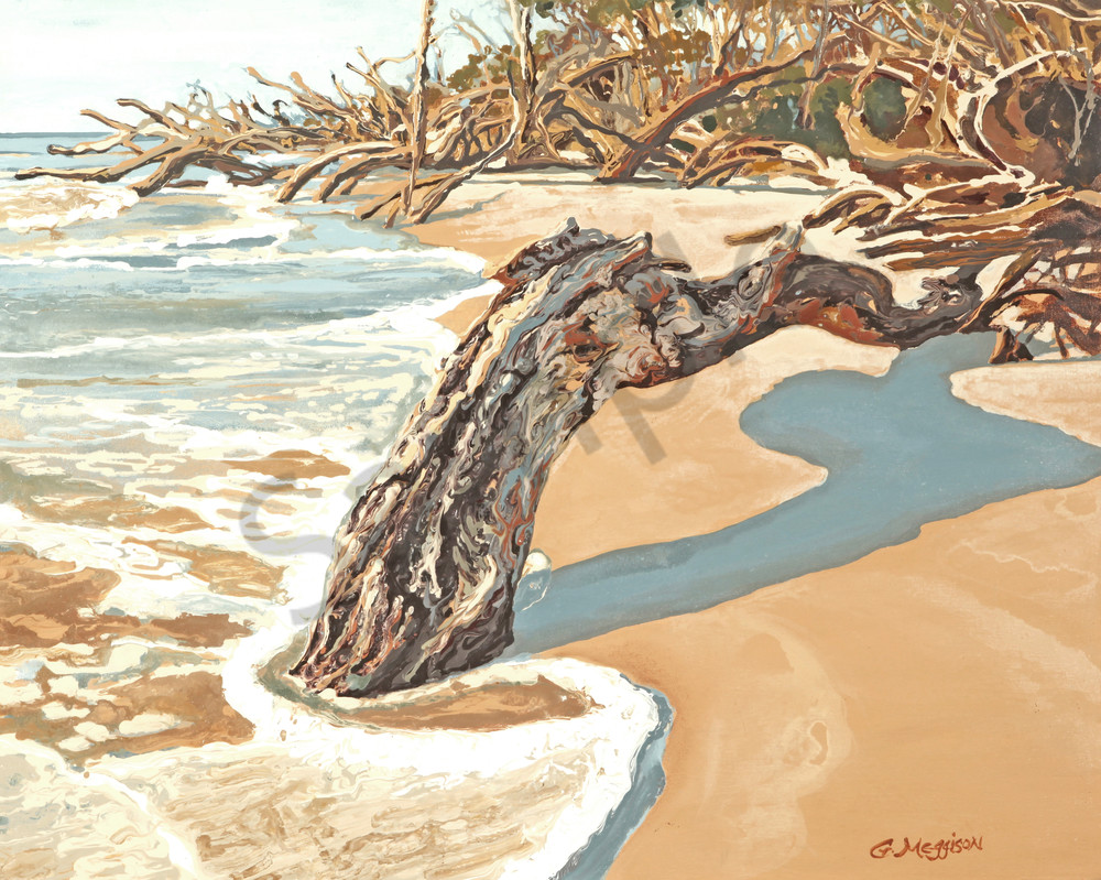 Worn By Wind and Sea | Contemporary Landscapes | Gordon Meggison IV