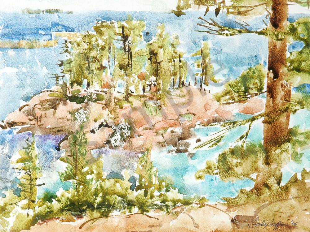 Killarney, Ontario | Watercolor Landscapes | Gordon Meggison IV