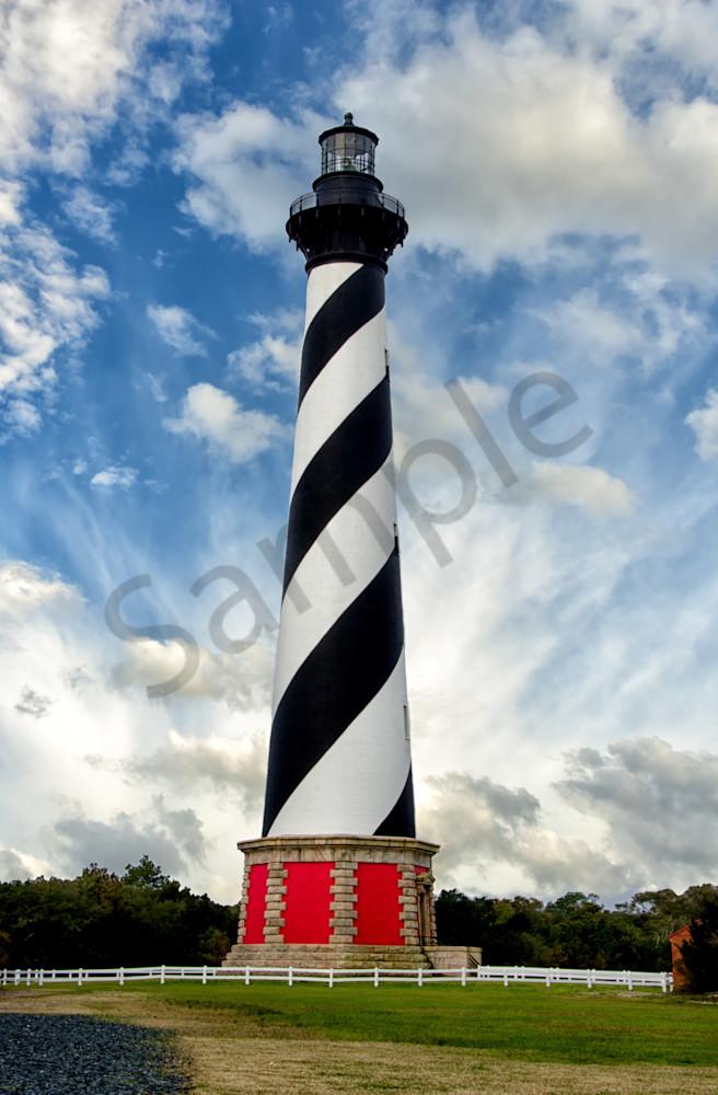 Cape Hatteras Lighthouse Landscape Photo Wall Art by Landscape Photographer Melissa Fague