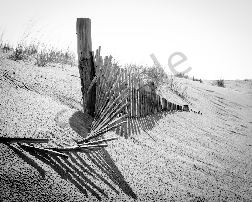 High Key Dunes Landscape Photo Wall Art by Landscape Photographer Melissa Fague