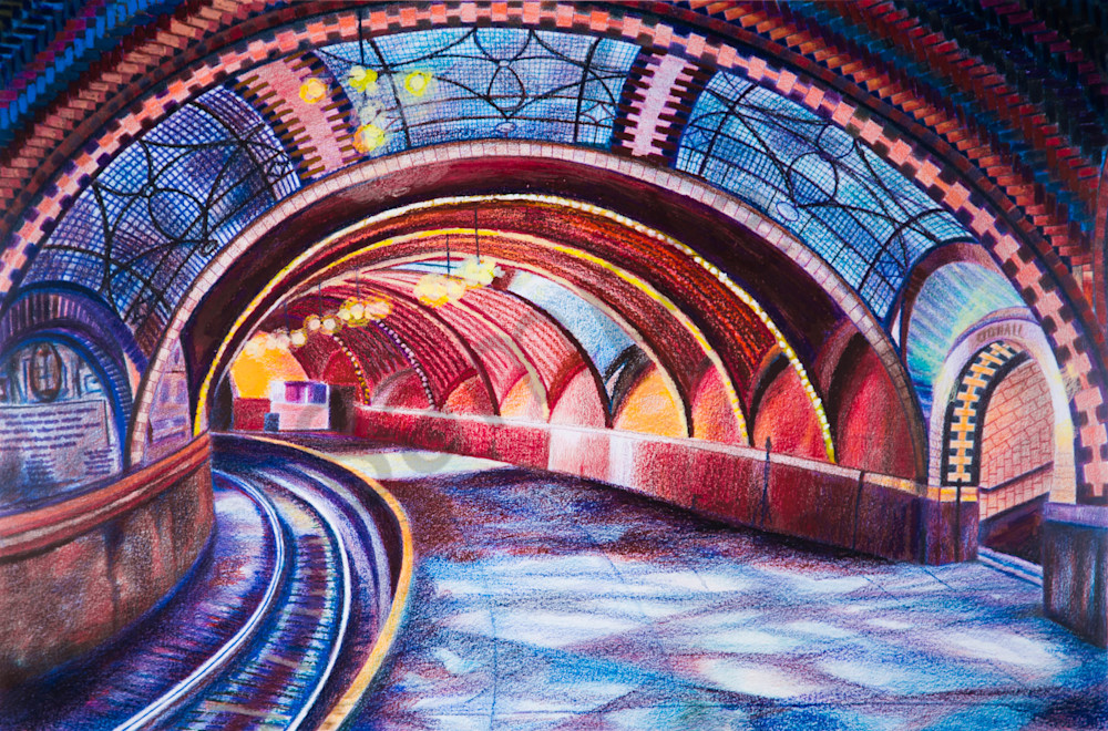 The Subway Art of NYC Transit City Hall Subway Painting