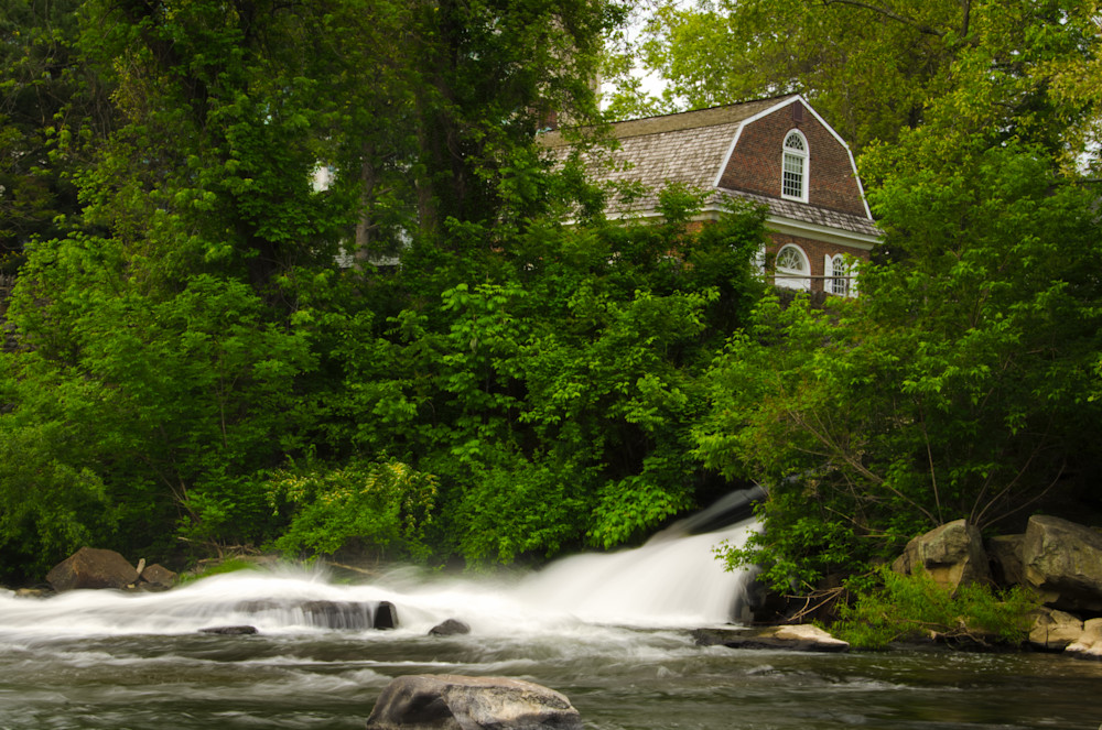 The Brandywine River and First Presbyterian Church Landscape Photo Wall Art by Landscape Photographer Melissa Fague