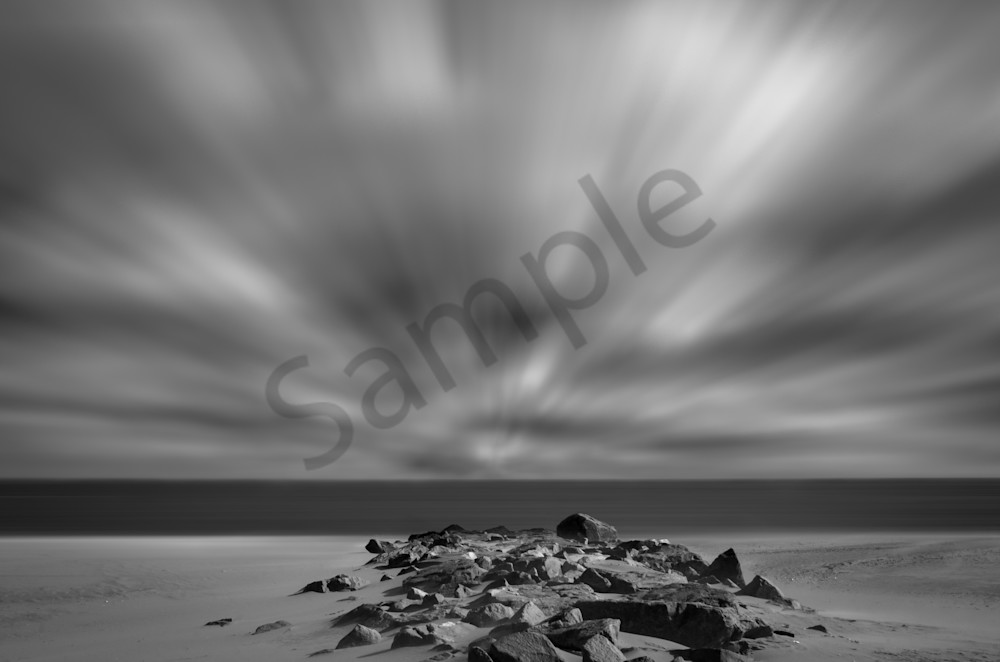 Windy Beach Landscape Photo Wall Art by Landscape Photographer Melissa Fague