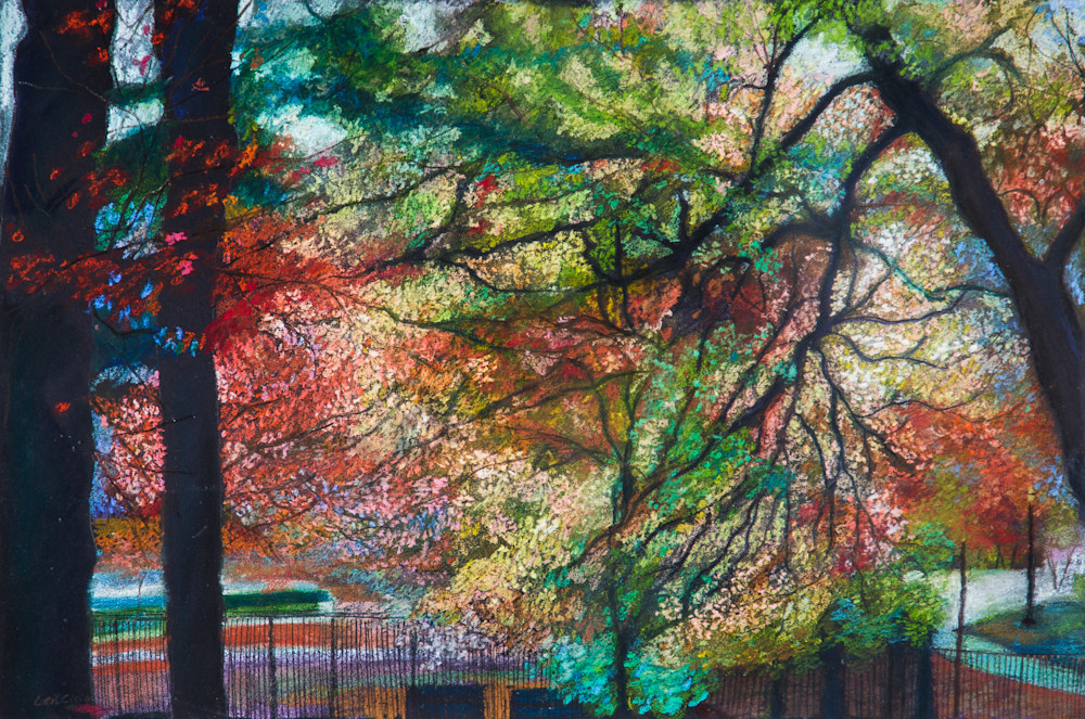 Manhattan Landscape-Inwood Park- 214th St.Art and Painting