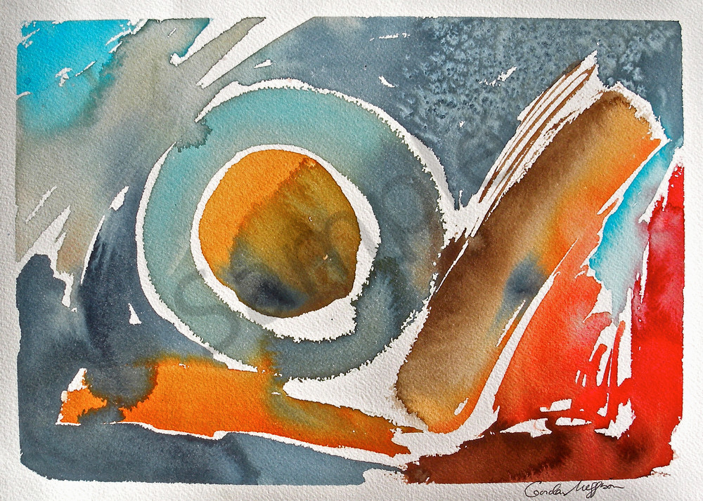 The Gods of Tao | Abstract Watercolors| Gordon Meggison IV