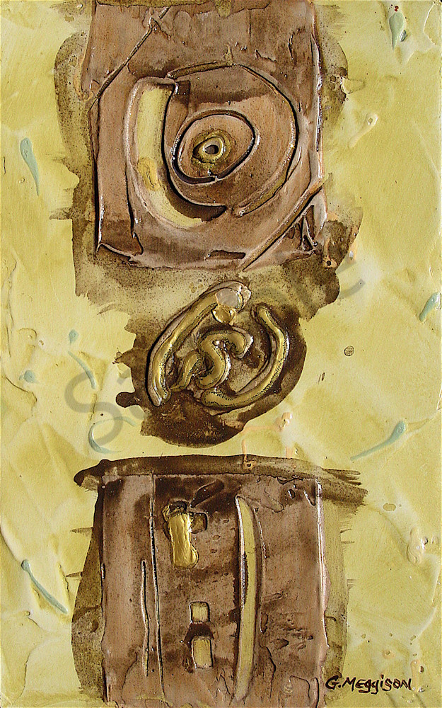 As Above So Below | Abstract Acrylic Mixed Media | Gordon Meggison IV