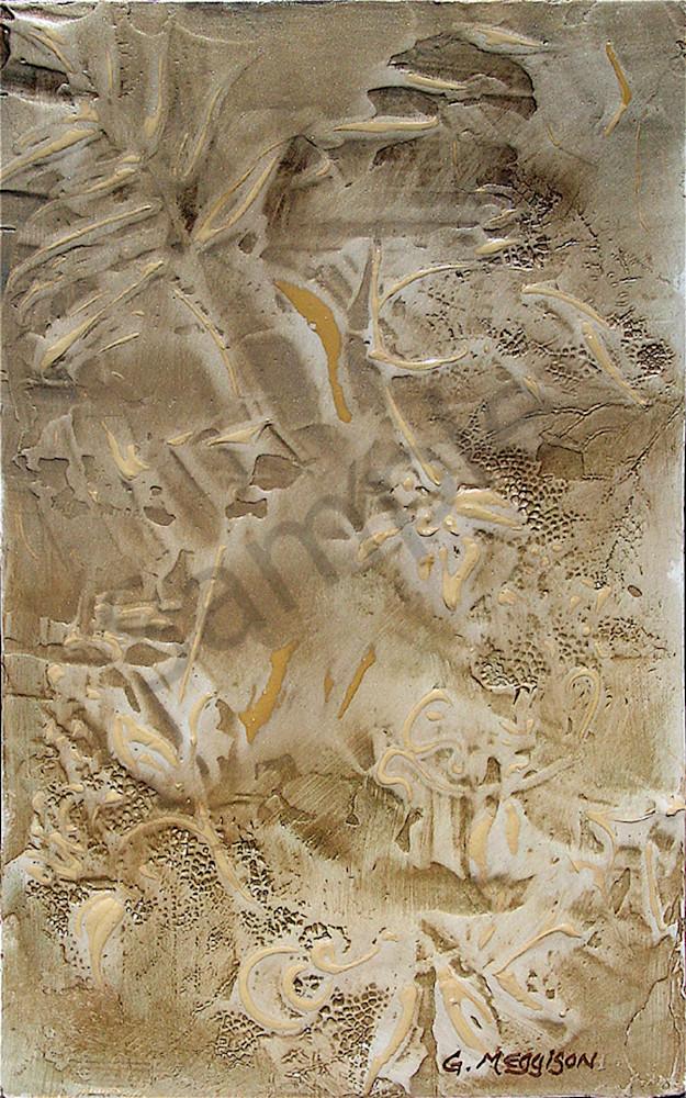 Shadows and Dust | Abstract Acrylic Mixed Media | Gordon Meggison IV