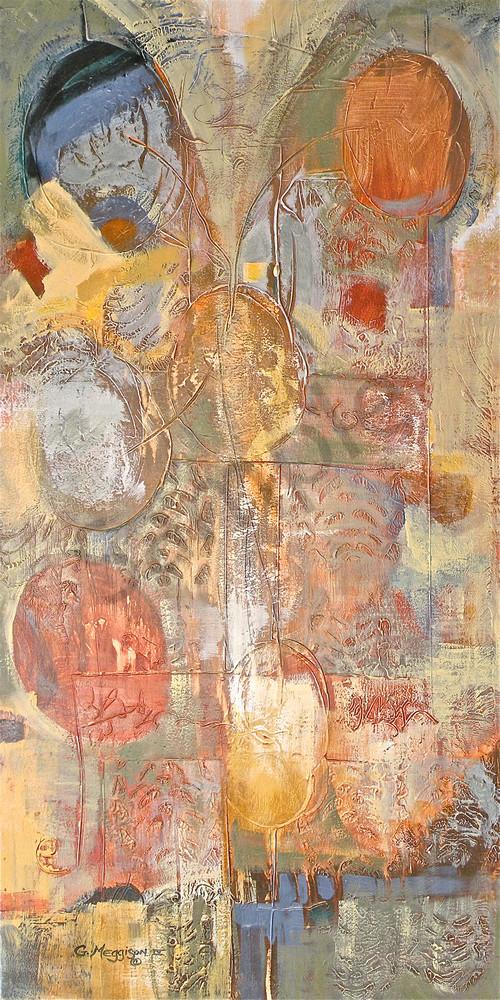 The Lovers | Abstract Acrylic Mixed Media | Gordon Meggison IV