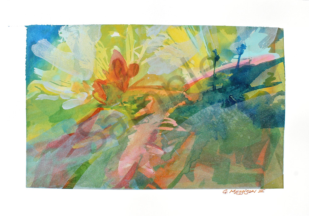 When Day Comes | Abstract Watercolors | Gordon Meggison IV