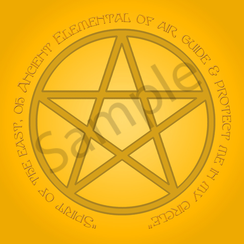 Spirit of Air Pentacle