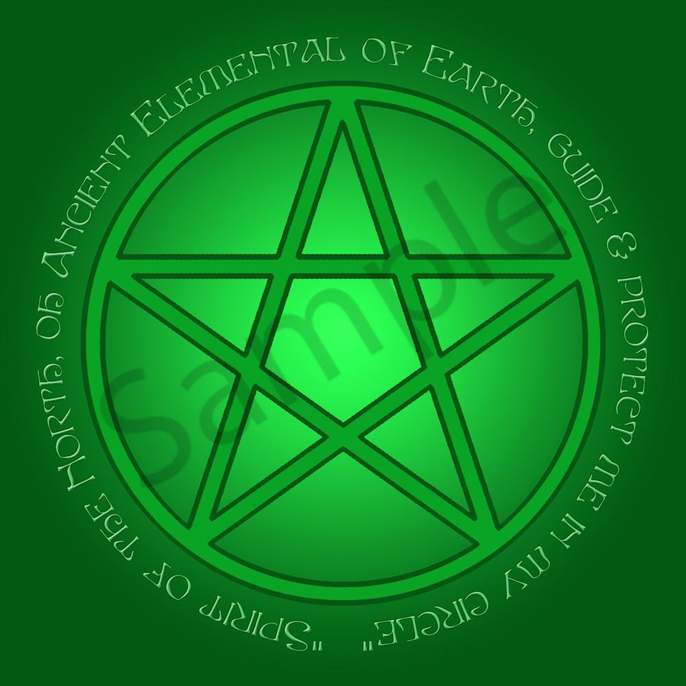 Spirit of Earth Pentacle