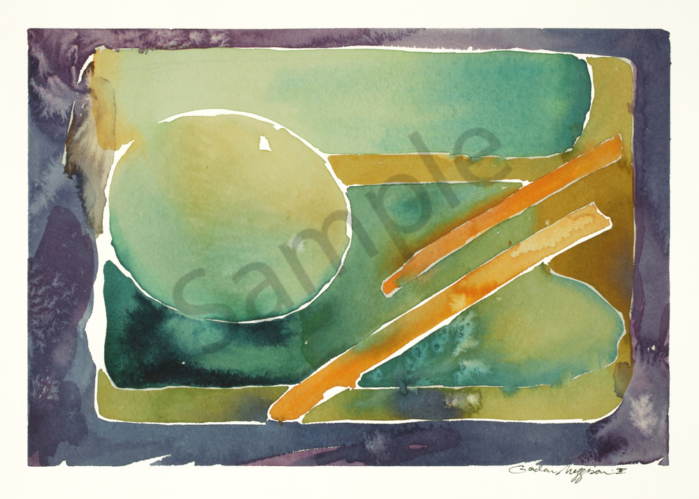 Omnipresence | Abstract Watercolors | Gordon Meggison IV