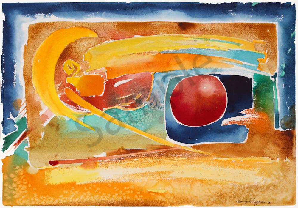 Intervention | Abstract Watercolors | Gordon Meggison IV
