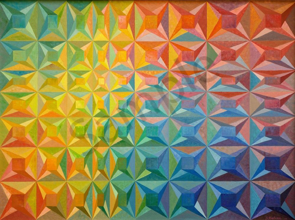 Colour Maze - Sherry Nielsen - geometric design