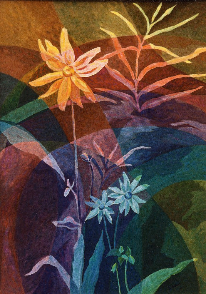 Arnicas in the Dance - Smithers artist - Sherry Nielsen