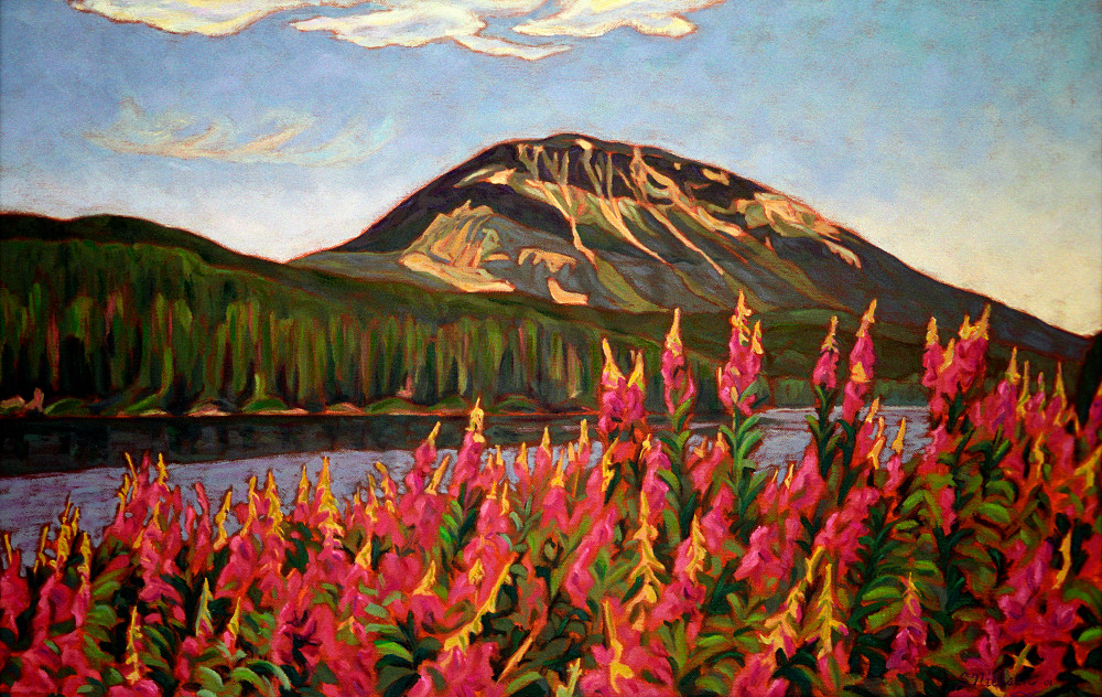 Nadina Mountain -painting-Canadian Artist Sherry Nielsen