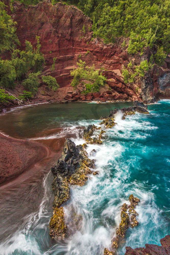 Scenic Photography Red Sands Of Maui