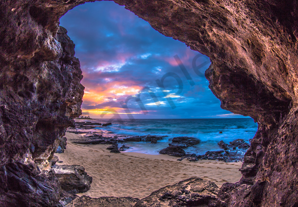Sunrise Photography Sandy Cave By Jaysen Patao