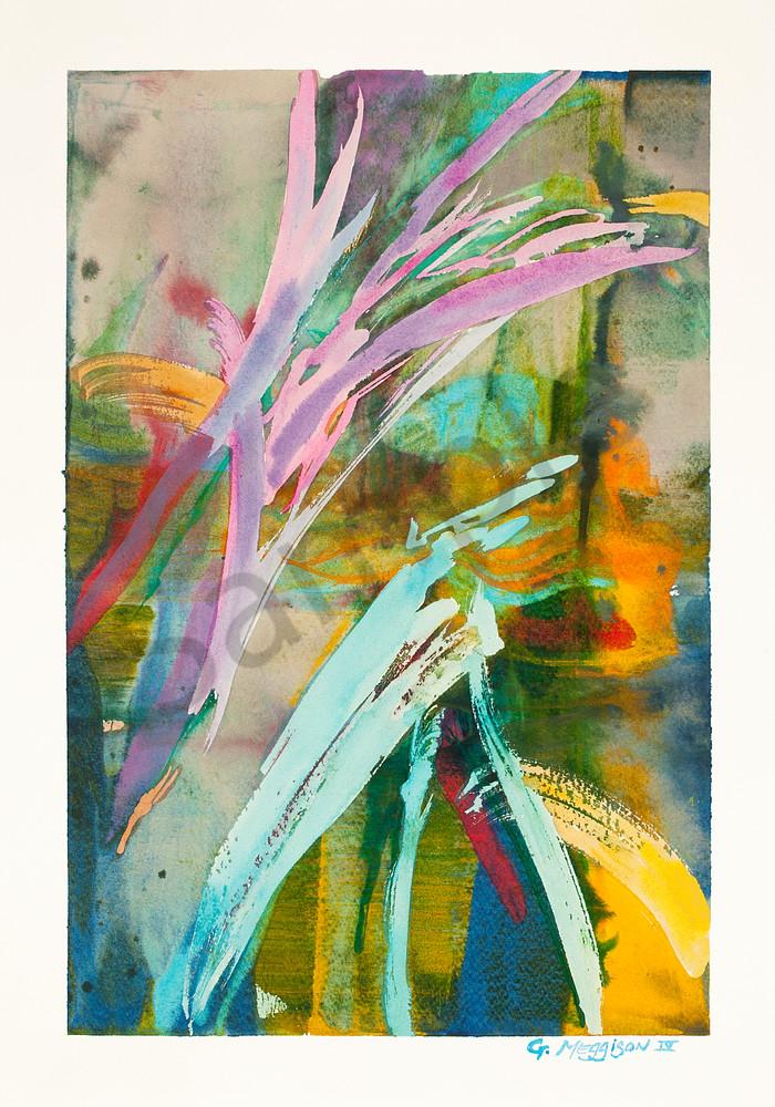 Song of Sophia | Contemporary Abstracts Watercolors | Gordon Meggison IV