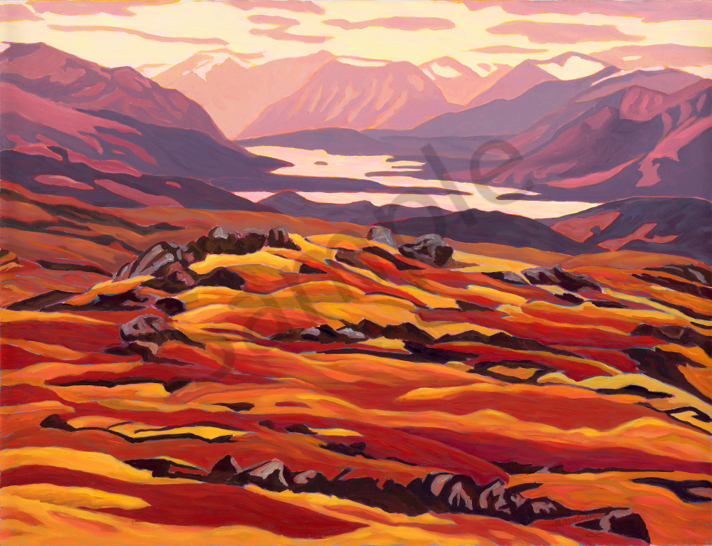 Torres Channel - Sherry Nielsen paints the Yukon