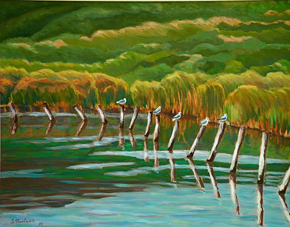 Birds At Rest - Sherry Nielsen - original and prints available
