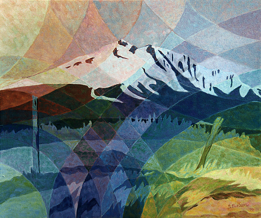 Hudson Bay Kaleidoscope - Oil painting original by Sherry Nielsen, also sold as prints