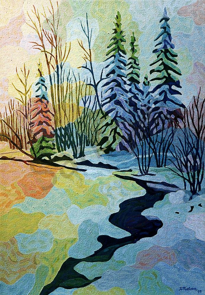 Calico Creek - Sherry Nielsen - Canadian Winter