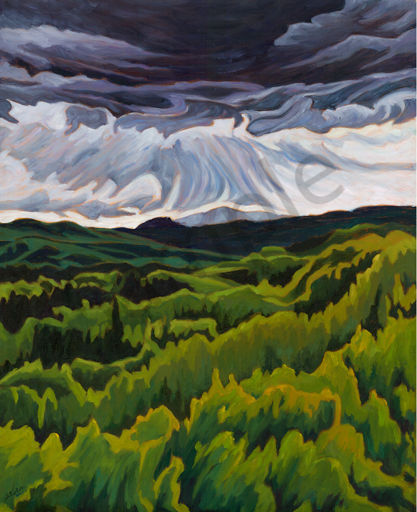 Storms Coming - Sherry Nielsen - Smithers, BC