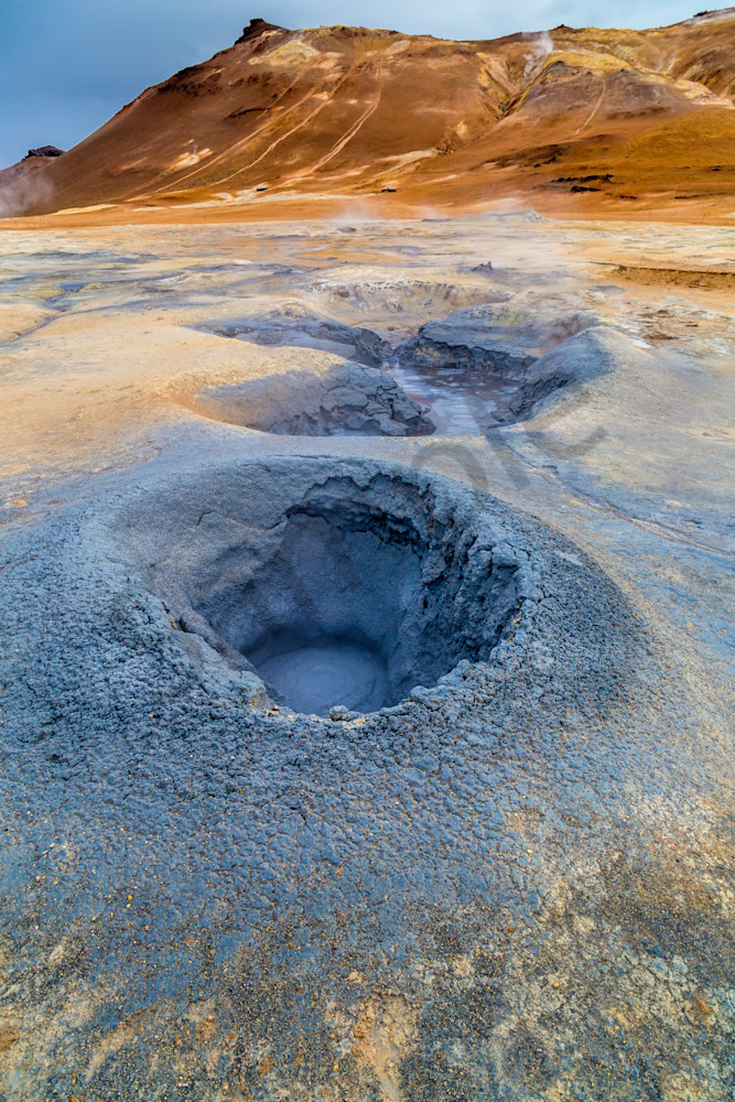 Boiling Volcanic Mud Pot, Namafjall, Iceland