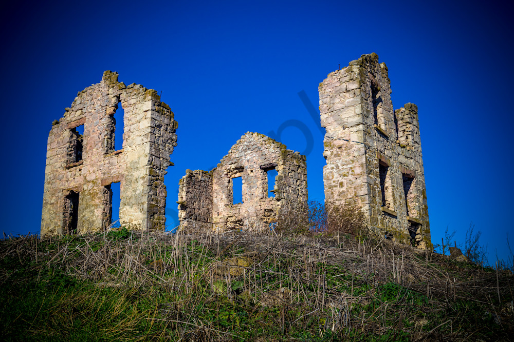 Ruins, Indian Lake, Wisconsin, USA
