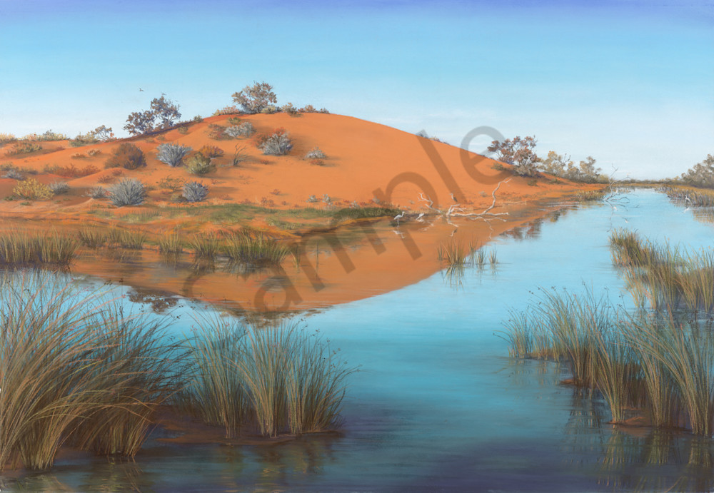 Oasis in the Desert by Jenny Greentree