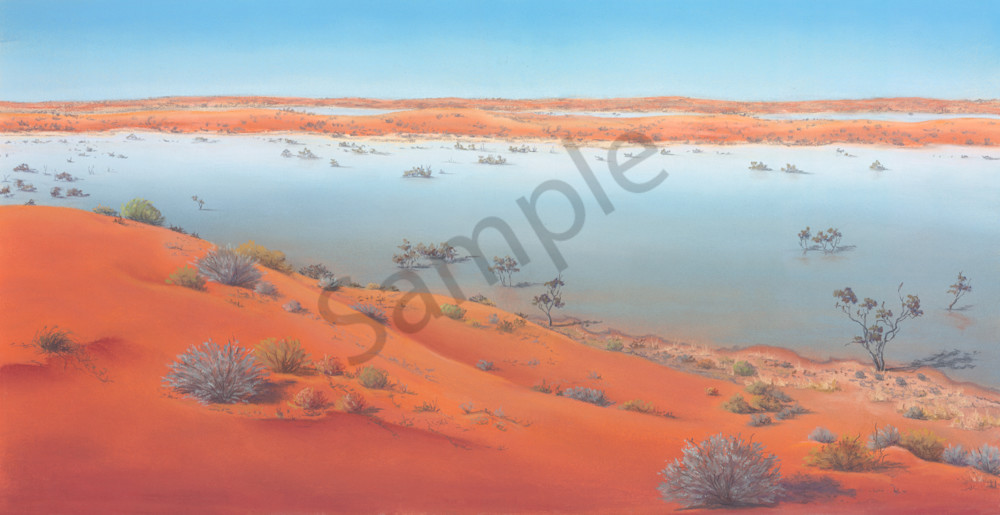 Water Between the Dunes by Jenny Greentree